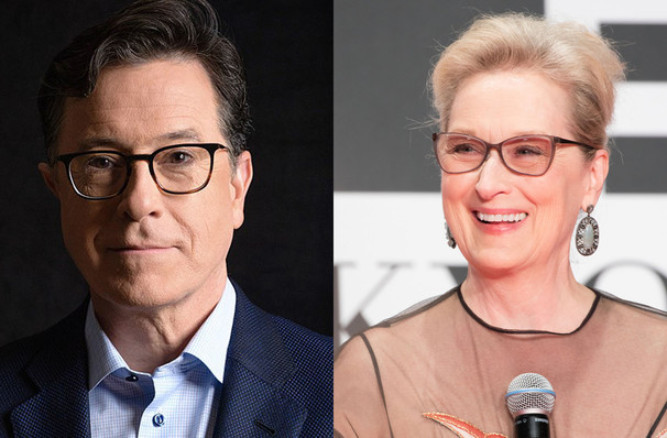 An Evening with Stephen Colbert and Meryl Streep, Prudential Hall, New York