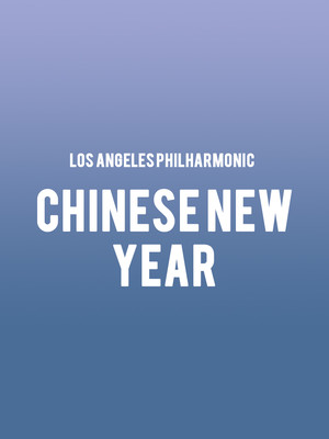 Los Angeles Philharmonic - Chinese New Year Poster