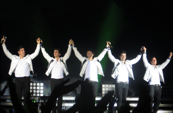 New Kids On The Block, Mandalay Bay Events Center, Las Vegas