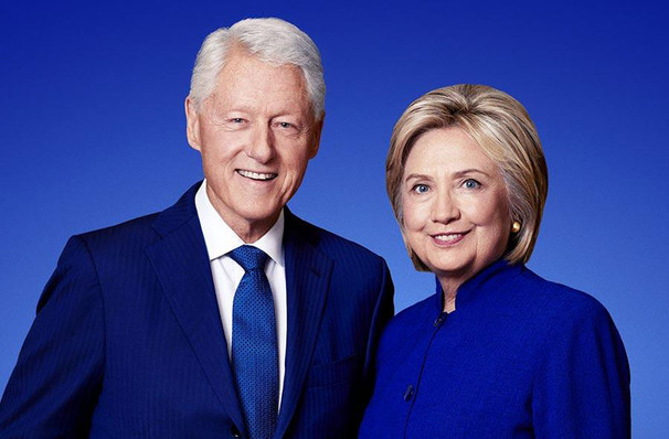 An Evening with Bill and Hillary Clinton, WaMu Theater, Seattle
