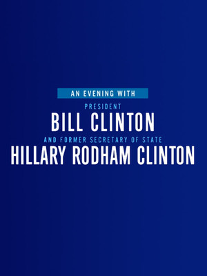 An Evening with Bill and Hillary Clinton, The Met Philadelphia, Philadelphia