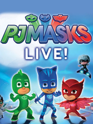 PJ Masks Live, Altria Theater, Richmond