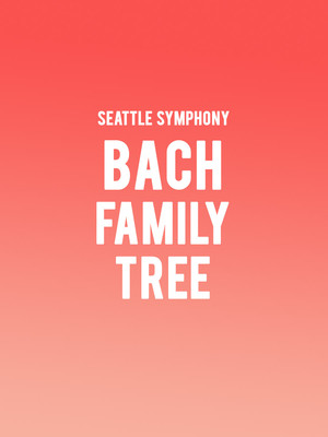 Seattle Symphony - Bach Family Tree Poster