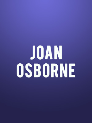 Joan Osborne, Hawaii Theatre, Honolulu