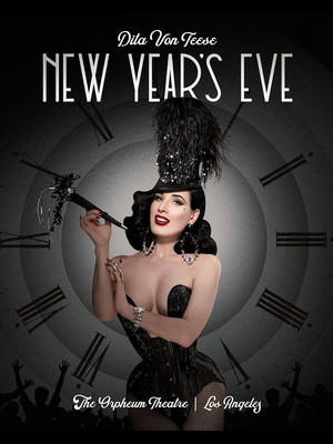 Dita Von Teese, Orpheum Theater, Los Angeles