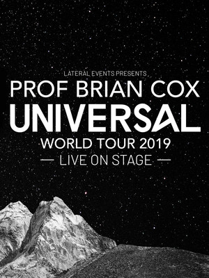 Professor Brian Cox at Shenkman Arts Center