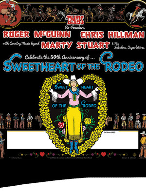 Sweetheart of the Rodeo, Ponte Vedra Concert Hall, Jacksonville