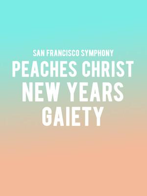 San Francisco Symphony New Years Gaiety, Davies Symphony Hall, San Francisco