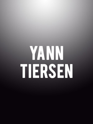 Yann Tiersen at Theatre Maisonneuve