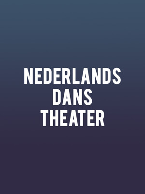 Nederlands Dans Theater Poster