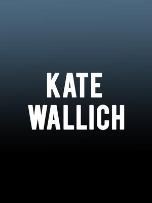 Kate Wallich Poster