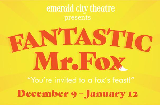 Fantastic Mr Fox, Victory Gardens Biograph Theatre, Chicago