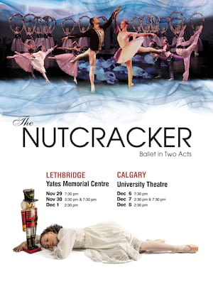 Jeunesse Classique Ballet Society The Nutcracker, The University Theatre, Calgary