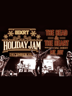 93XRT Holiday Jam The Head and the Heart, The Chicago Theatre, Chicago