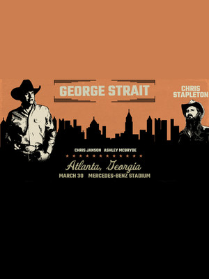 George Strait with Chris Stapleton, Mercedes Benz Stadium, Atlanta