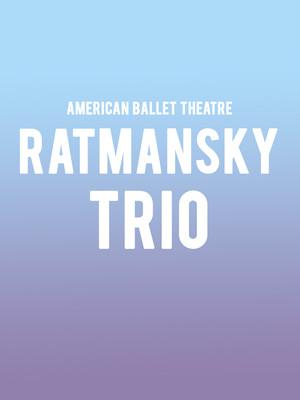 American Ballet Theatre - Ratmansky Trio at Metropolitan Opera House