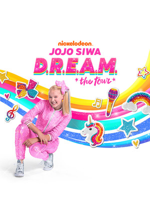 Jojo Siwa at Volvo Cars Stadium
