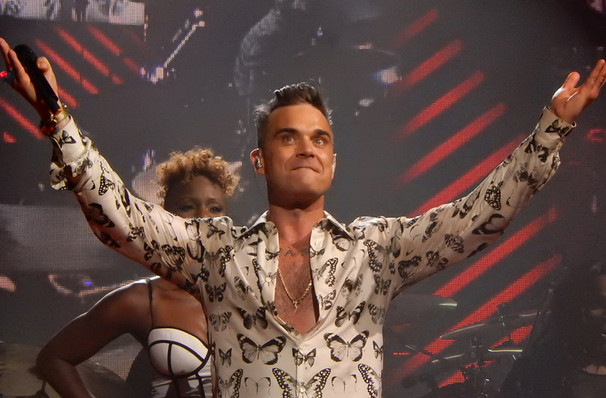 Robbie Williams, Encore Theatre, Las Vegas