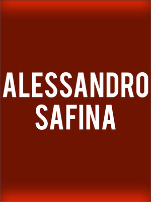 Alessandro Safina at Beacon Theater