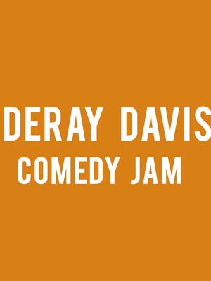 DeRay Davis, Peoria Civic Center Theatre, Peoria