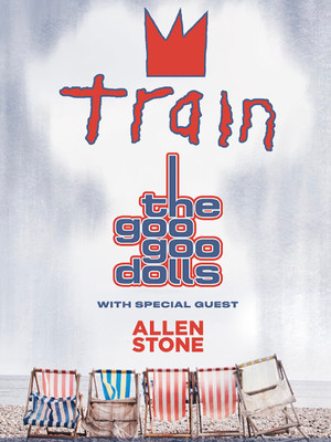 Goo Goo Dolls and Train Poster