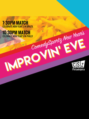 ComedySportz New Year's Improvin' Eve Poster
