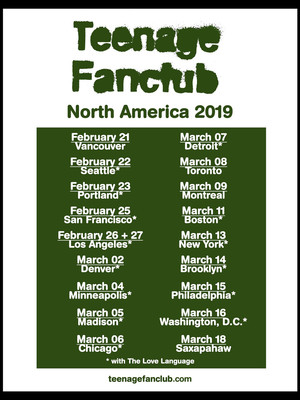 Teenage Fanclub Poster