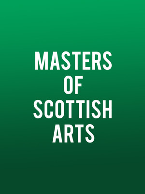 Masters of Scottish Arts Poster