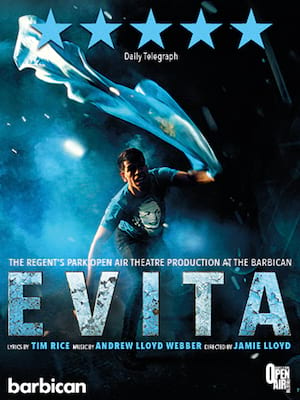 Evita, Open Air Theatre, London