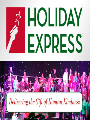 Holiday Express Benefit Concert Poster