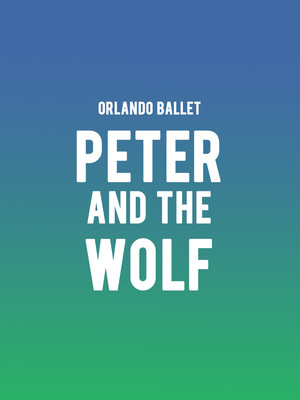 Orlando Ballet Peter and the Wolf, Walt Disney Theater, Orlando