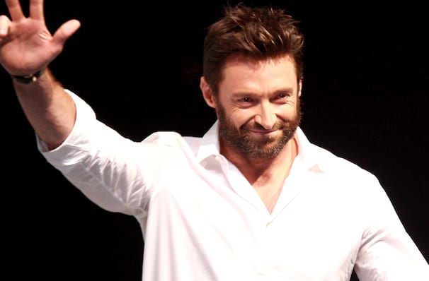 Hugh Jackman, TD Garden, Boston