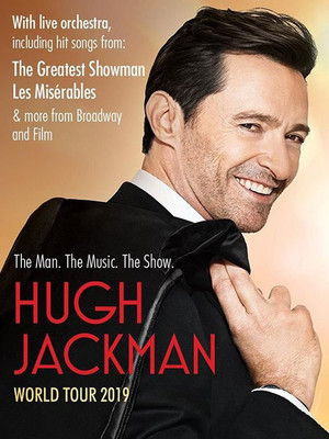 Hugh Jackman at Gila River Arena