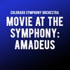 Colorado Symphony Orchestra Movie at the Symphony Amadeus, Boettcher Concert Hall, Denver