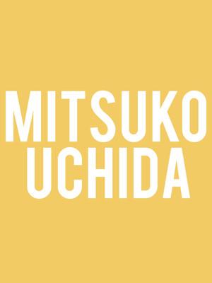 Mitsuko Uchida Poster