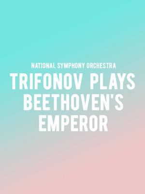 National Symphony Orchestra Trifonov plays Beethovens Emperor, Kennedy Center Concert Hall, Washington