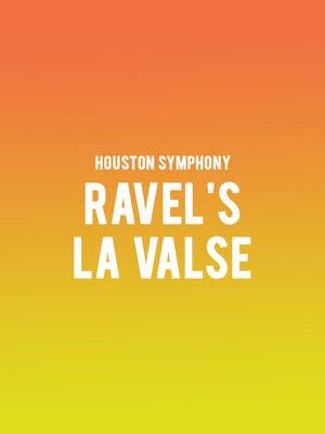 Houston Symphony - Ravels La Valse Poster