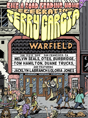 A Tribute to Jerry Garcia Poster