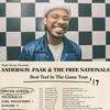 Anderson Paak, Bill Graham Civic Auditorium, San Francisco