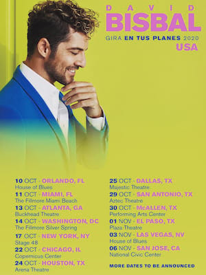 David Bisbal at Plaza Theatre