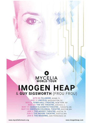 Imogen Heap, Nob Hill Masonic Center, San Francisco