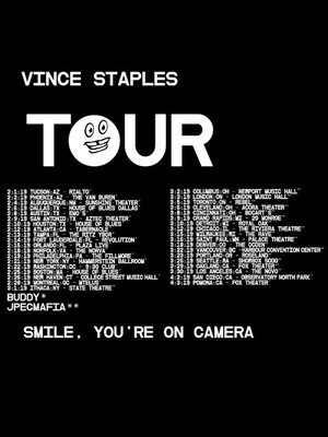 Vince Staples, The Novo, Los Angeles