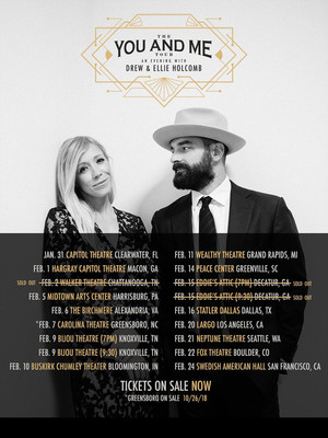 Drew and Ellie Holcomb at Neptune Theater