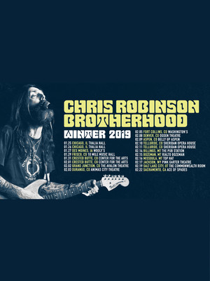 Chris Robinson Brotherhood Poster