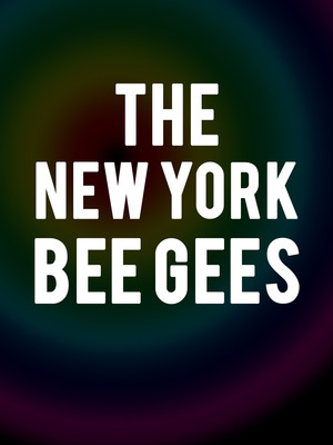 The New York Bee Gees Poster