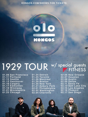 Kongos at Hawthorne Theatre