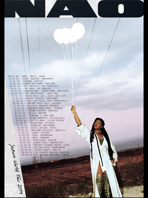 NAO at Vogue Theatre