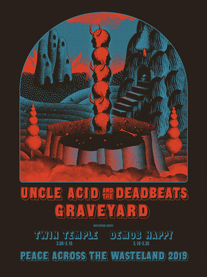 Uncle Acid and The Deadbeats, The Warfield, San Francisco