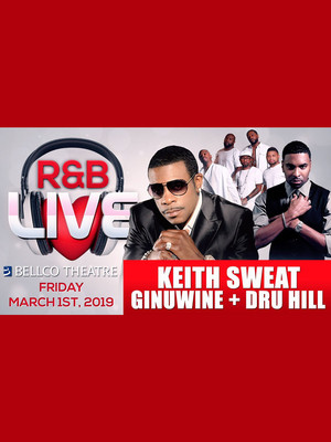Keith Sweat, Ginuwine and Dru Hill Poster