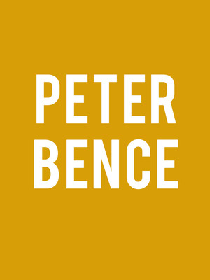 Peter Bence at Lisner Auditorium